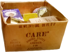 CARE-Paket aus dem Alliierten Museum in Berlin