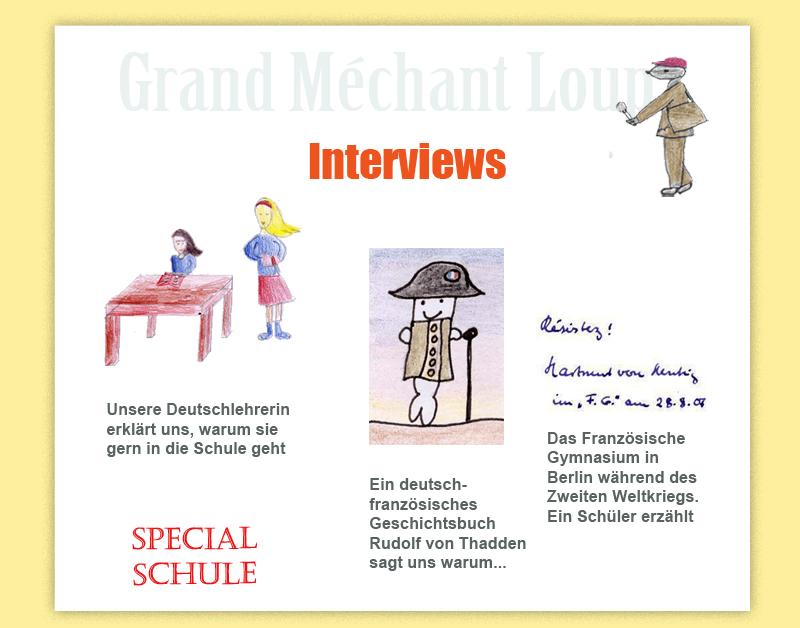 Frankreich für Kinder  Schule  Interviews