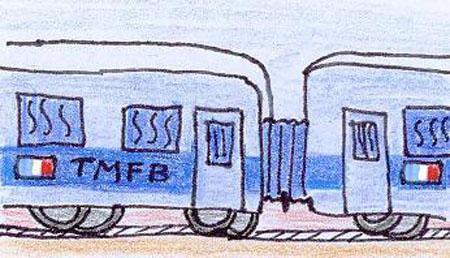 Train Militaire Français de Berlin, der französische Militärzug zur Zeit der DDR